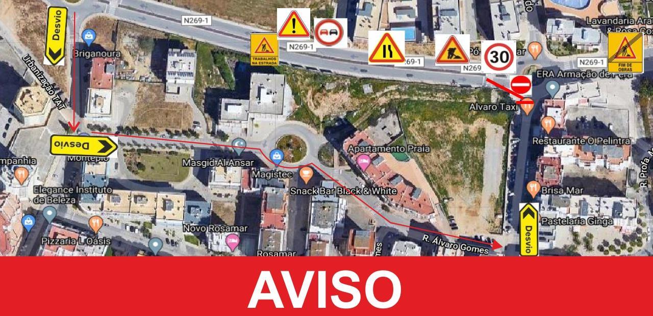 Site Autárquico da CM Silves ACESSO RODOVIÁRIO À AVENIDA GENERAL ...
